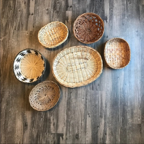 Vintage Other - Boho Baskets Wall